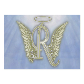 Letter R Angel Monogram Pack Of Chubby Business Cards