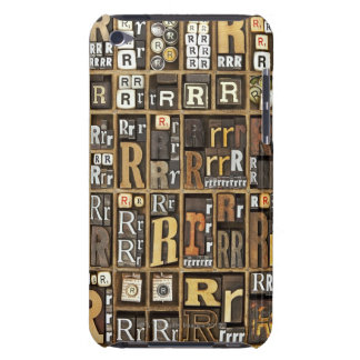 Letter R Barely There iPod Cover