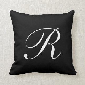 Custom The Letter R Throw Cushions