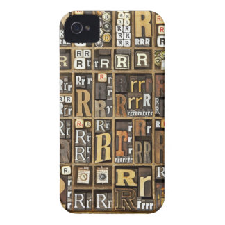 Letter R Case-Mate iPhone 4 Case