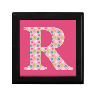 Letter R Initial Gift Box