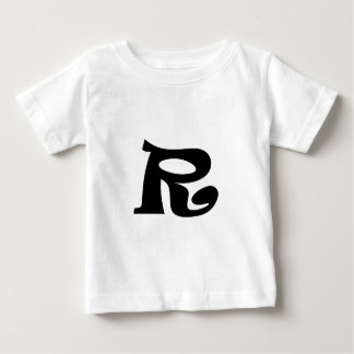Letter R_large Baby T-Shirt