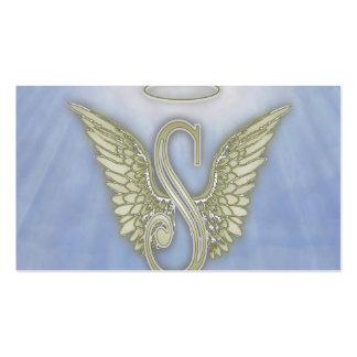 Letter S Angel Monogram Pack Of Standard Business Cards