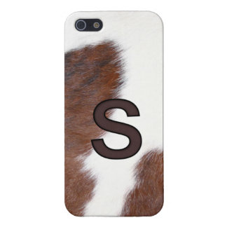 Letter S Brand Cowhide Livestock Iphone 5 Case