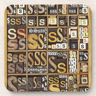 Letter S Coaster