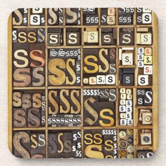 Letter S Coaster