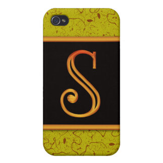 LETTER S COVER FOR iPhone 4