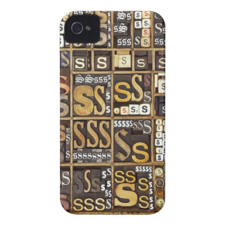 Letter S iPhone 4 Cover