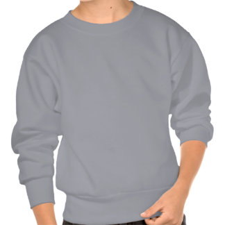 LETTER S PULL OVER SWEATSHIRT