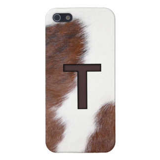 Letter T Brand Cowhide Livestock Iphone 5 Case