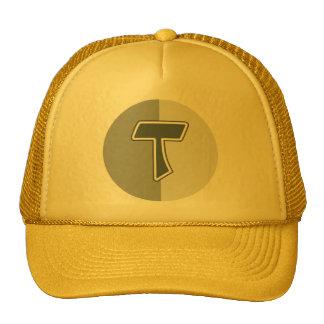 Letter T Hats