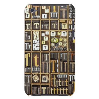 Letter T iPod Touch Case-Mate Case