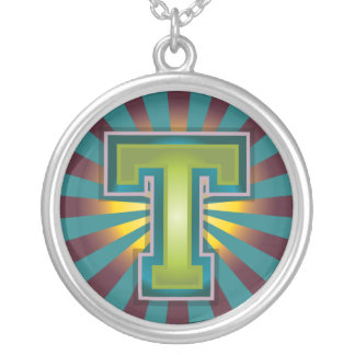 Letter 'T' Personalized Necklace