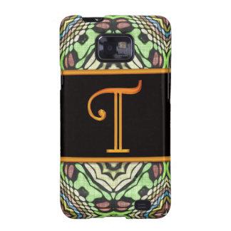 LETTER T Samsung Galaxy S II Case Samsung Galaxy S2 Case