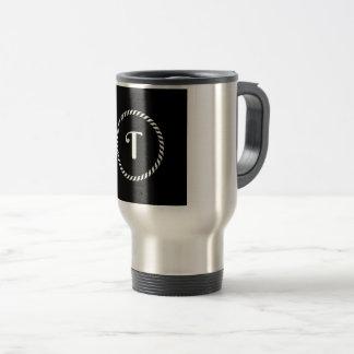 Letter T Travel Mug