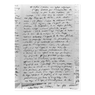 Letter to Richard Wagner  17th February 1860 Postcard
