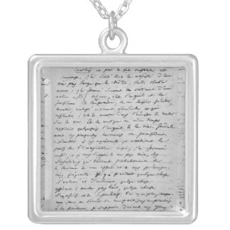 Letter to Richard Wagner  17th February 1860 Silver Plated Necklace