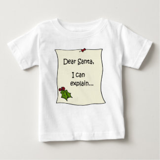 Letter to Santa Baby T-Shirt