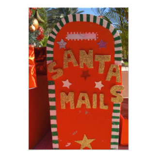 Letter to Santa Card