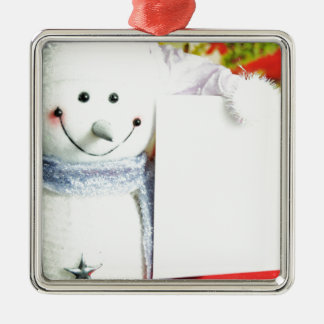 Letter to Santa Christmas Ornament