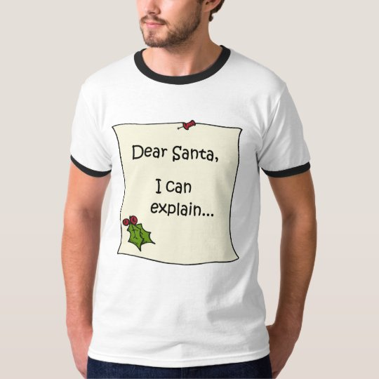Letter to Santa t-shirt
