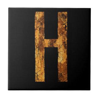 Letter Typo H Tiles