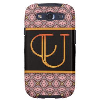 LETTER U Samsung Galaxy S 3 Case Samsung Galaxy S3 Case