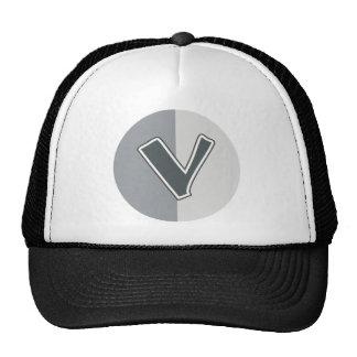 Letter V Cap