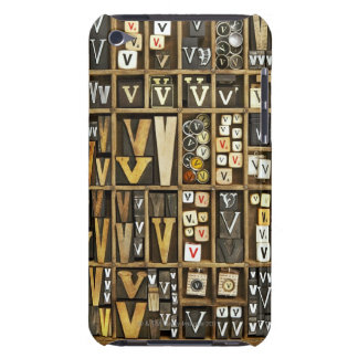 Letter V iPod Case-Mate Cases