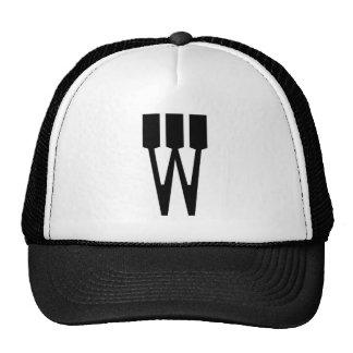 Letter W Hat