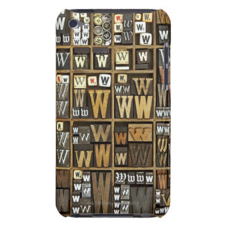 Letter W iPod Case-Mate Case
