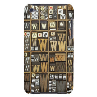 Letter W iPod Touch Case-Mate Case