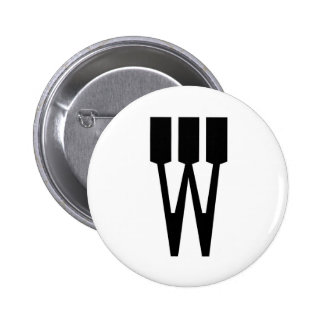 Letter W Pins