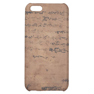 Letter written by Miyamoto Musashi, c. 1600's iPhone 5C Cover