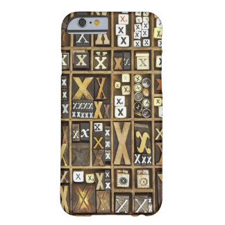 Letter X Barely There iPhone 6 Case