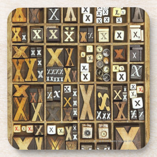 Letter X Coaster