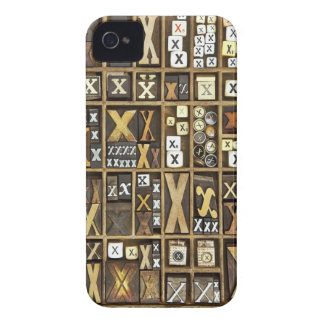 Letter X iPhone 4 Cover