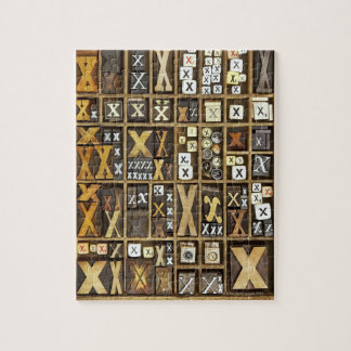 Letter X Jigsaw Puzzle