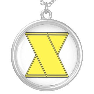 letter x necklaces