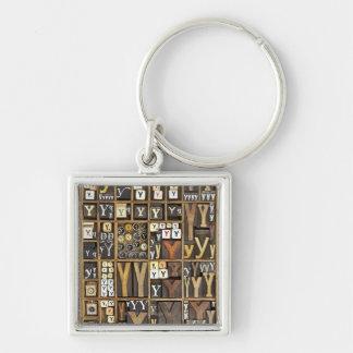 Letter Y Key Ring