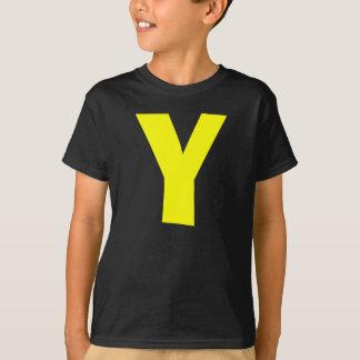 Letter Y Kids Shirt