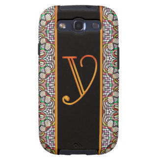 LETTER Y Samsung Galaxy S 3 Case Galaxy S3 Cases