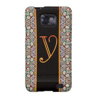 LETTER Y Samsung Galaxy S II Case Samsung Galaxy S2 Cover
