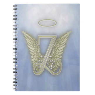 Letter Z Angel Monogram Notebook