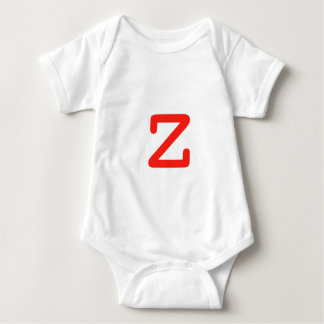 Letter Z Baby Bodysuit