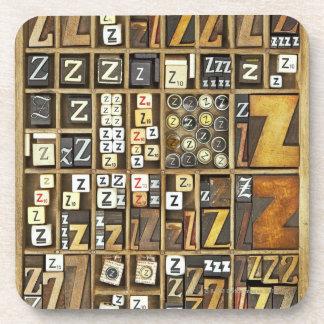 Letter Z Coaster