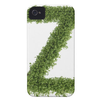 Letter 'Z' in cress on white background, 2 iPhone 4 Cover