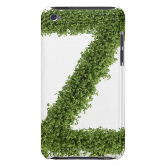 Letter 'Z' in cress on white background, 2 iPod Touch Case-Mate Case