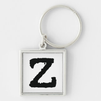 Letter Z Key Ring