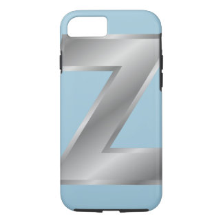 Letter Z Monogram iPhone 7, Barely There iPhone 7 Case
